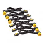 Кабель APC Power Cord Kit (6 pack), Locking, C13 to C14 (90 Degree), 1.8m AP8706R-WW