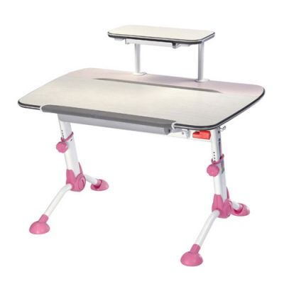 Стол Бюрократ Conductor-03/Milk&P (Молочный розовый)