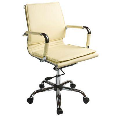 Офисное кресло Бюрократ CH-993-Low/ivory