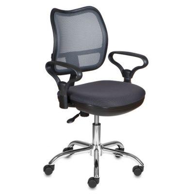 Офисное кресло Бюрократ офисное dark grey CH-799SL/DG/TW-12