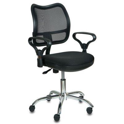 Офисное кресло Бюрократ офисное black CH-799SL/TW-11