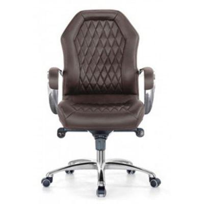 Офисное кресло Бюрократ руководителя Aura-Low/Brown