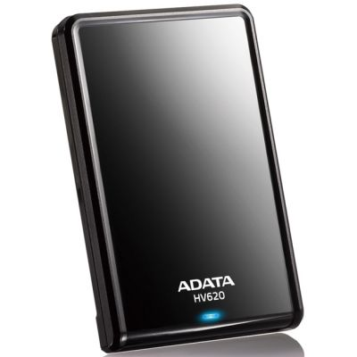 """������� ������� ���� ADATA DashDrive HV620 2.5"""" USB3.0 Black AHV620-500GU3-CBK"""