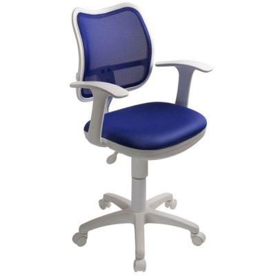 Офисное кресло Бюрократ офисное Blue CH-W797/BL/TW-10