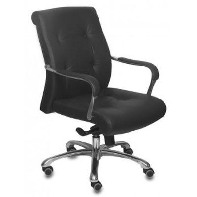 Офисное кресло Бюрократ руководителя _BOSS-LOW/BLACK