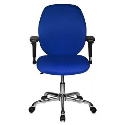 Офисное кресло Бюрократ офисное CH-586-Low/TW-10/Blue