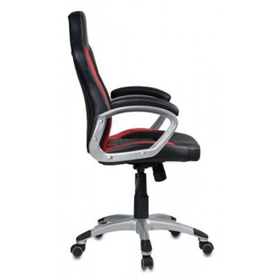 Офисное кресло Бюрократ руководителя Black-Red CH-825S/BLACK+RD