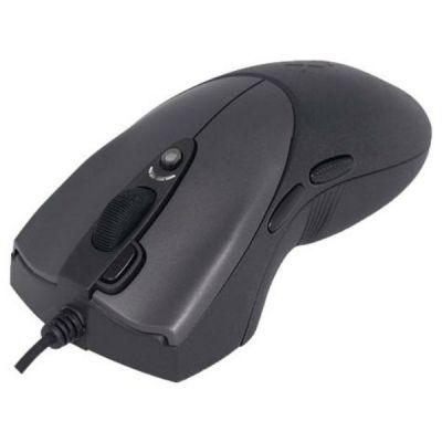 Мышь проводная A4Tech Laser Extra High Speed Oscar Editor USB Black