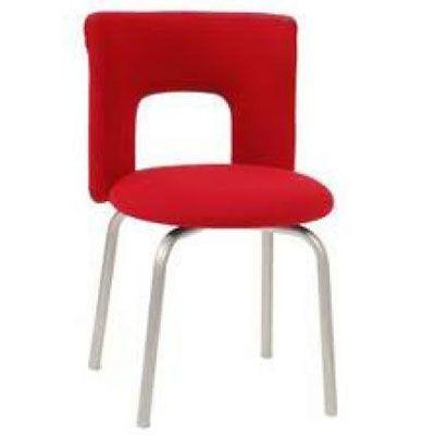 Офисное кресло Бюрократ посетителя KF-1/RED26-22