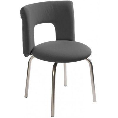 Офисное кресло Бюрократ посетителя KF-1/27-04/Dark grey