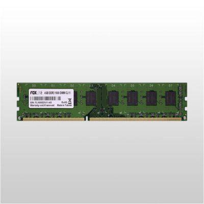 ����������� ������ Foxline dimm 4GB 1600 DDR3 CL11 FL1600D3U11-4G