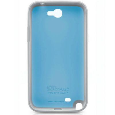 Samsung задняя крышка Protective Cover+ Note2/N7100 Blue EFC-1J9BLEGSTD