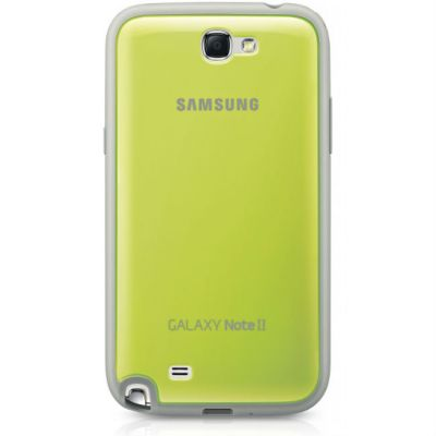 Накладка Samsung Protective Cover+ Note2/N7100 Green EFC-1J9BGEGSTD