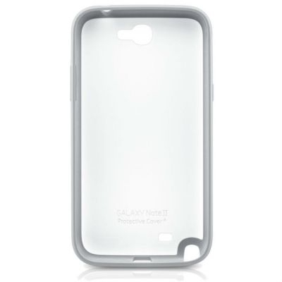 Samsung ������ ������ Protective Cover+ Note2/N7100 White EFC-1J9BWEGSTD