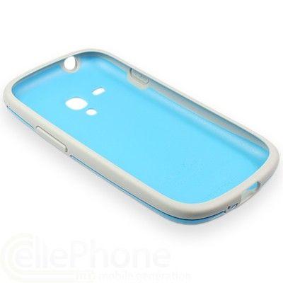 ����� Samsung ����������� Protective Cover+ S3 mini/I8190 Light Blue EFC-1M7BLEGSTD