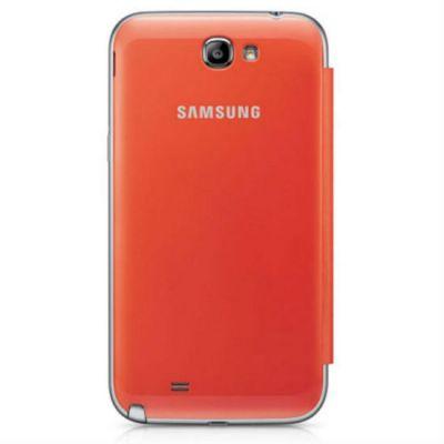 Чехол Samsung Flip Cover Note2/N7100 Orange EFC-1J9FOEGSTD