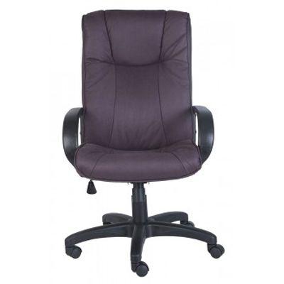 Офисное кресло Бюрократ руководителя нубук Purple CH-838AXSN/F3
