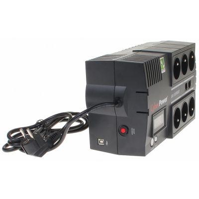 ИБП CyberPower Brics Line-Interactive, 650VA / 390W BR650ELCD
