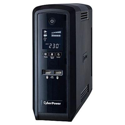ИБП CyberPower Back-UPS CP PFC Sinewave, Line-Interactive, 1300VA / 780W CP1300EPFCLCD