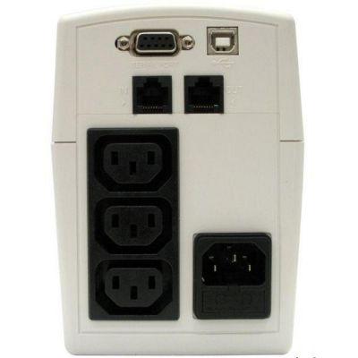 ИБП CyberPower Back-UPS Value, Line-Interactive, 700VA / 385W VALUE700EI-W