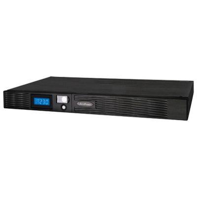 ИБП CyberPower Smart-UPS Professional Rackmount, Line-Interactive, 1000VA / 670W PR1000ELCDRT1U