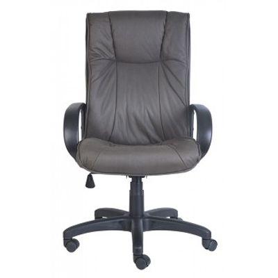 Офисное кресло Бюрократ Руководителя нубук Dark Gray CH-838AXSN/F4