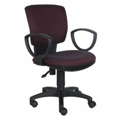 Офисное кресло Бюрократ CH-626AXSN бордовый-черный ромбик