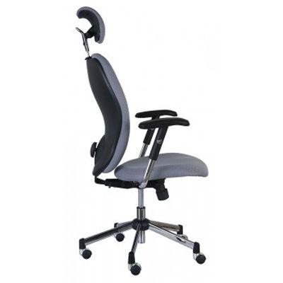 Офисное кресло Бюрократ V398-12 Gray (69530) CH-593ASX/G
