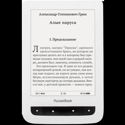 Электронная книга PocketBook 624 White PB624-D-RU