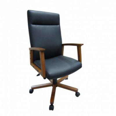 Офисное кресло Бюрократ руководителя CH-995W/Black