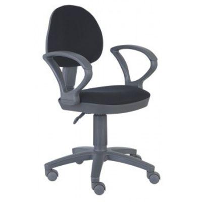 Офисное кресло Бюрократ офисное серый пластик черный (69618) CH-G318AXN/B