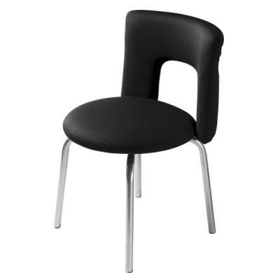 Офисное кресло Бюрократ посетителя KF-1/27-28/Black