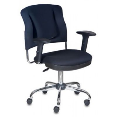 Офисное кресло Бюрократ офисное черное CH-H323AXSN/B