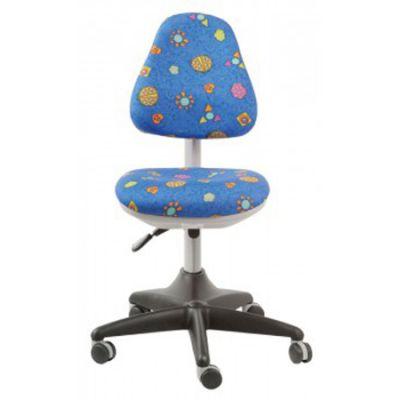 Офисное кресло Бюрократ детское божьи коровки (69672) KD-2/G/LB-BLUE