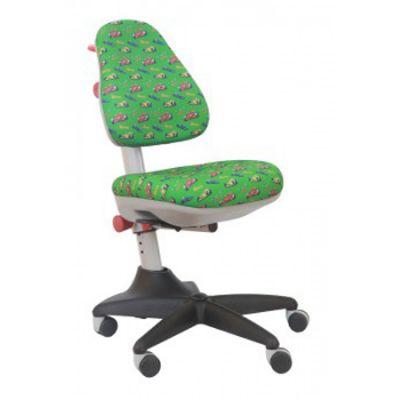 Офисное кресло Бюрократ детское формула 1 зеленый фон (69692) KD-2/R/RACE-GR