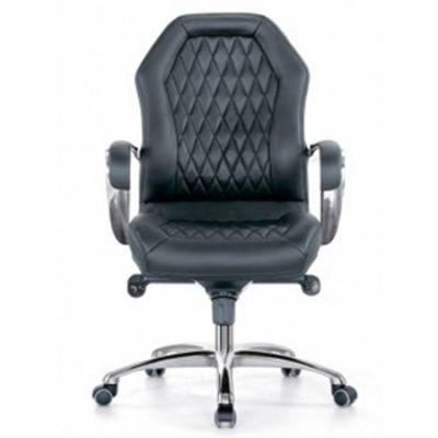 Офисное кресло Бюрократ Руководителя Black _AURA-LOW/BLACK