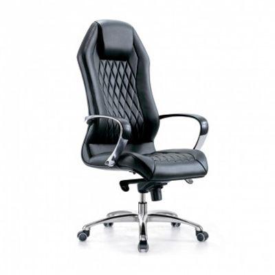 Офисное кресло Бюрократ Руководителя _AURA/BLACK