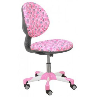 Офисное кресло Бюрократ детское куколки на розовом фоне (69795) KD-6/PK/DOLLS-PK