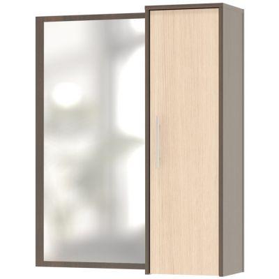 Шкаф Сокол с зеркалом ПЗ-4 (Корпус Венге / Фасад Беленый дуб)