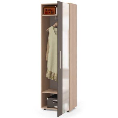 Шкаф Сокол для одежды ШО-2(Корпус Беленый дуб / Фасад Венге)