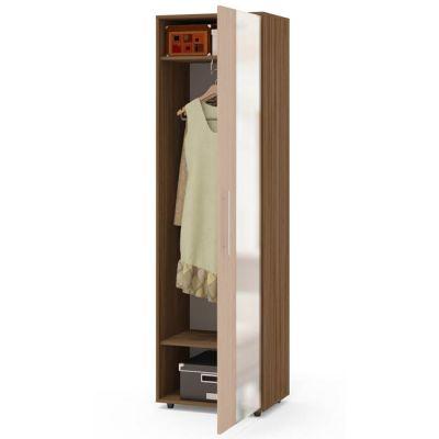 Шкаф Сокол для одежды ШО-2(Корпус Ясень шимо темный / Фасад Беленый дуб)