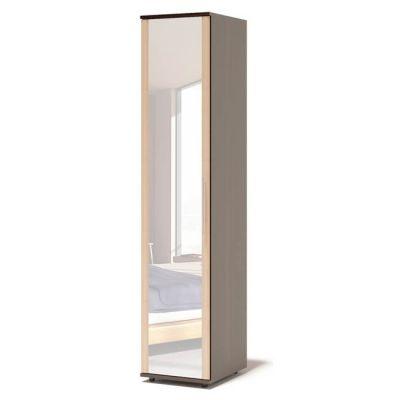 Шкаф Сокол Маркес ШМ-205.2 с зеркалом (Корпус Венге / Фасад Беленый дуб)