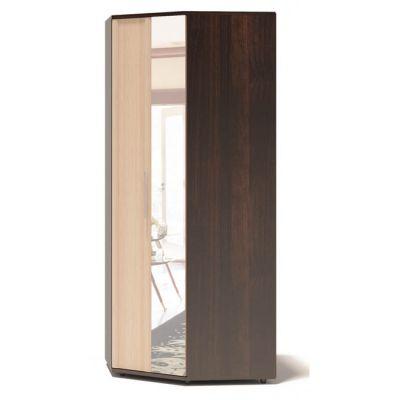 Шкаф Сокол Маркес ШО-20.99 с зеркалом (Корпус Венге / Фасад Беленый дуб)