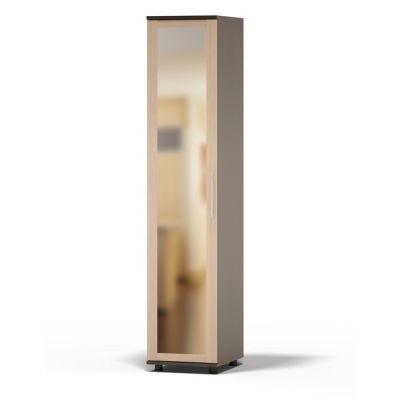 Шкаф Сокол Техас ШМ-205.1 с зеркалом (Корпус Венге / Фасад Беленый дуб)