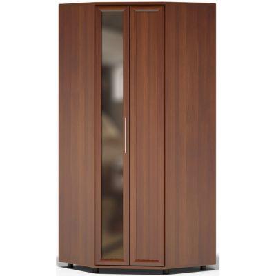 Шкаф Сокол Поло ШО-20.98 угловой с зеркалом (Испанский орех)