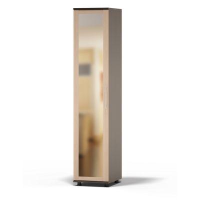 Шкаф Сокол Техас ШМ-25.3 с зеркалом (Корпус Венге / Фасад Беленый дуб)