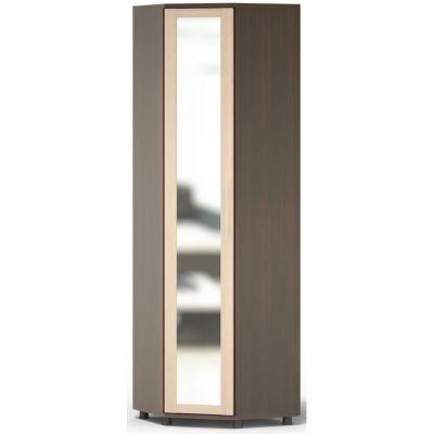 Шкаф Сокол Техас ШМ-20.97 с зеркалом (Корпус Венге / Фасад Беленый дуб)