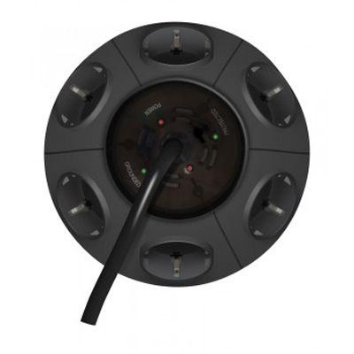 Сетевой фильтр Ippon BU-211GM 1.8m (6 oultet) grey