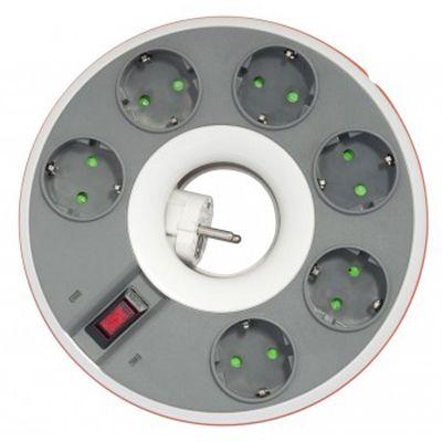 Сетевой фильтр Ippon BD-211W 1.8m (6 oultet) white