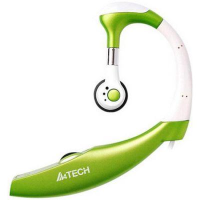 Наушники с микрофоном A4Tech HS-12-2 (Green)